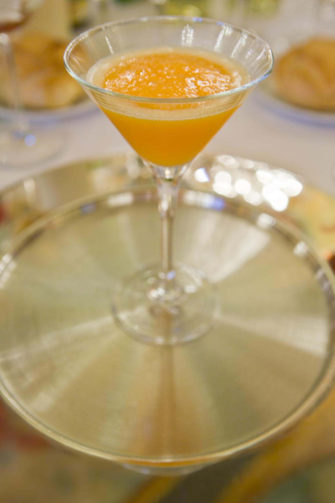 Sorbete de champagne a la Yara
