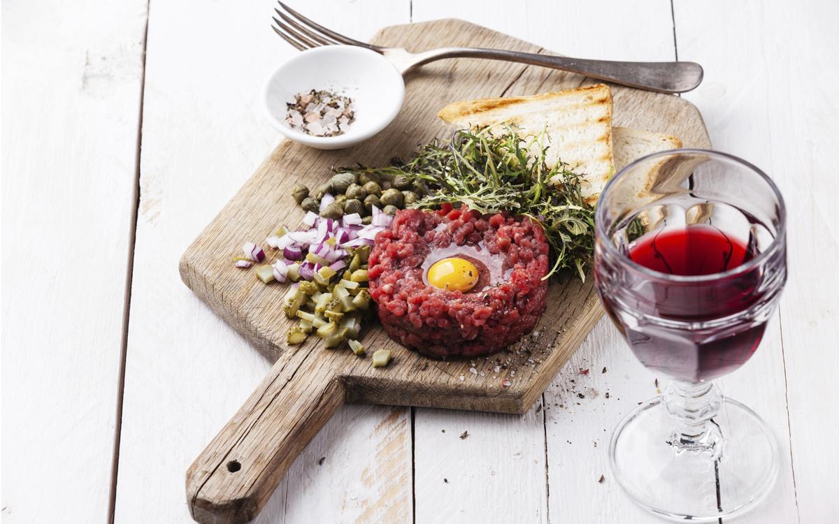 Steak tartar clásico