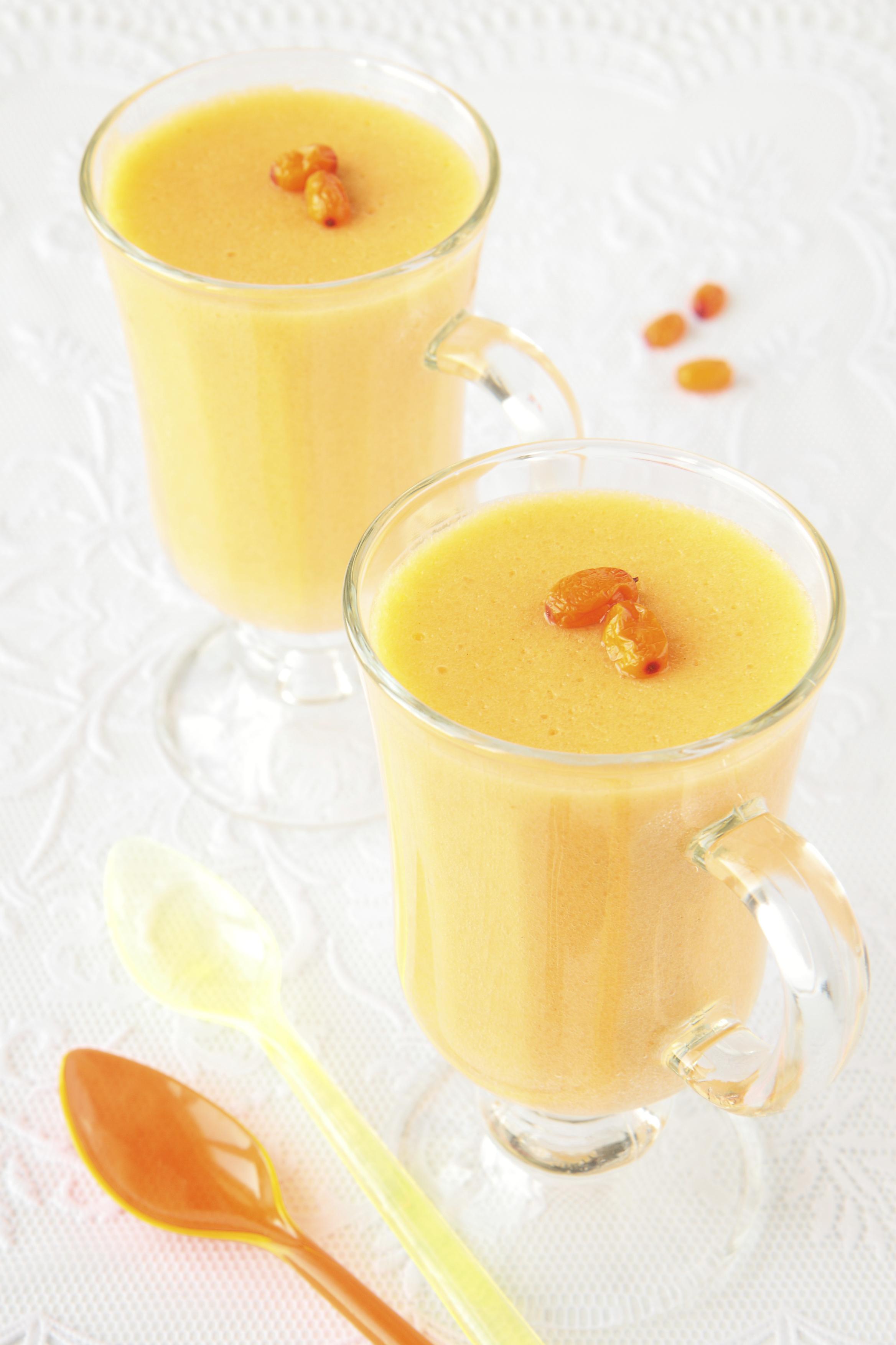 Suflé de naranja y limón