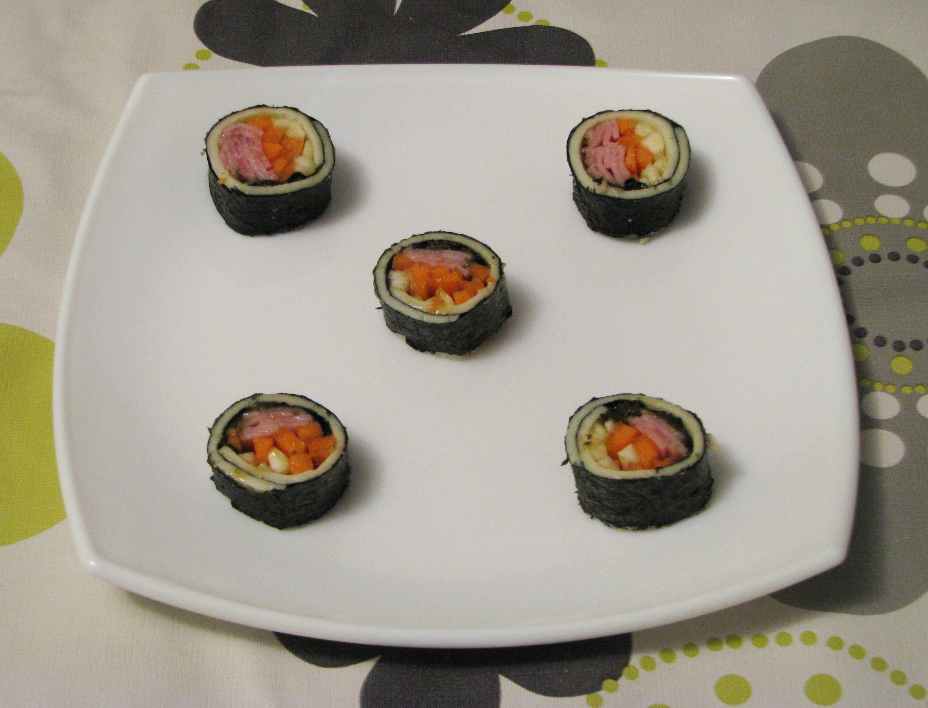 Sushi de queso
