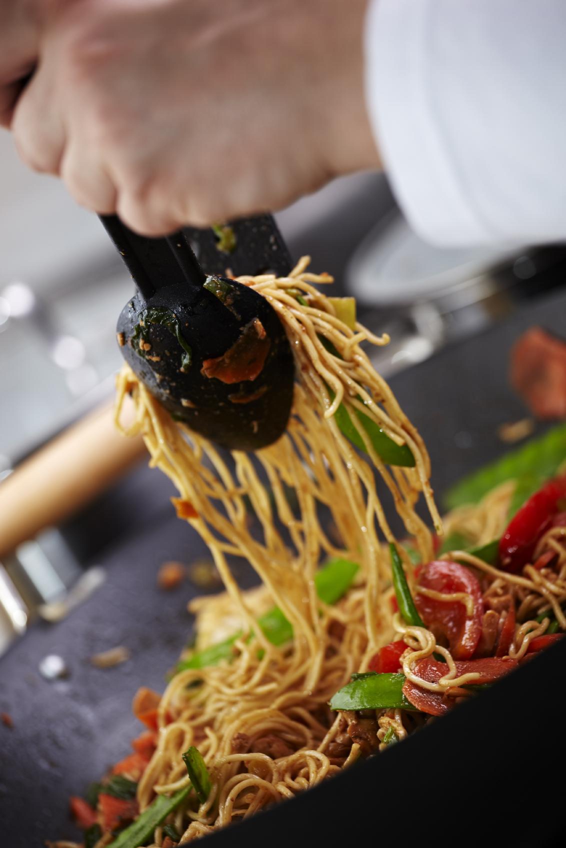 Fideos chinos estilo Chop Suey