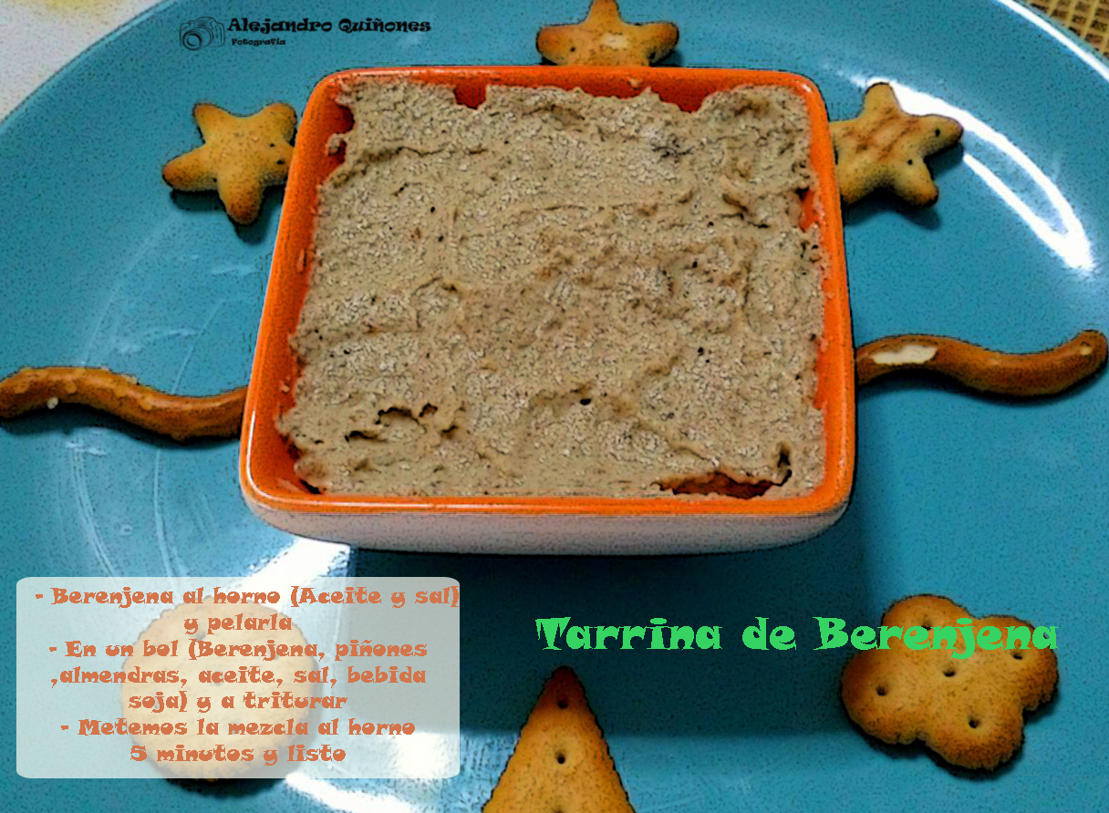 Tarrina de Berenjena
