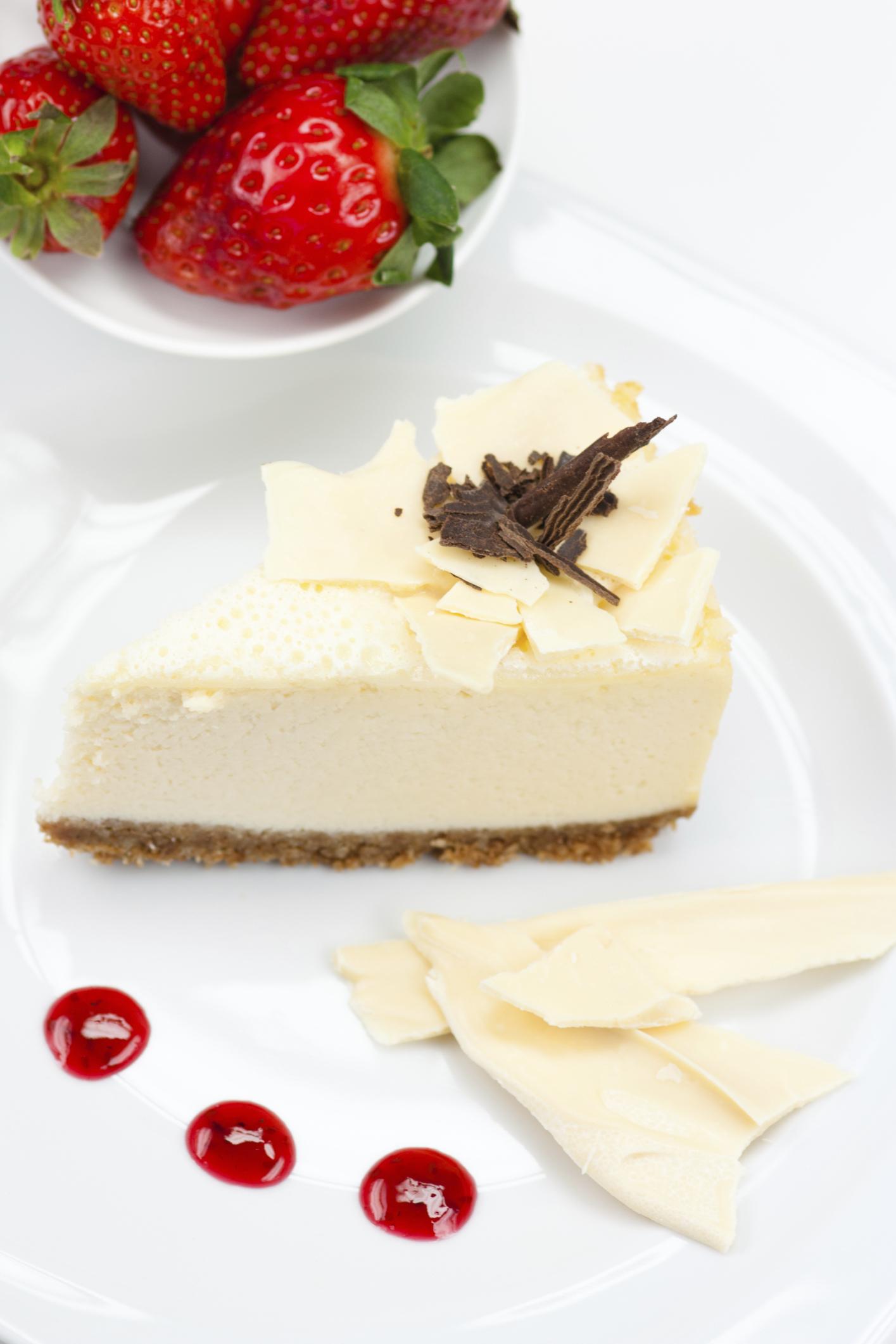 Tarta fácil de chocolate blanco