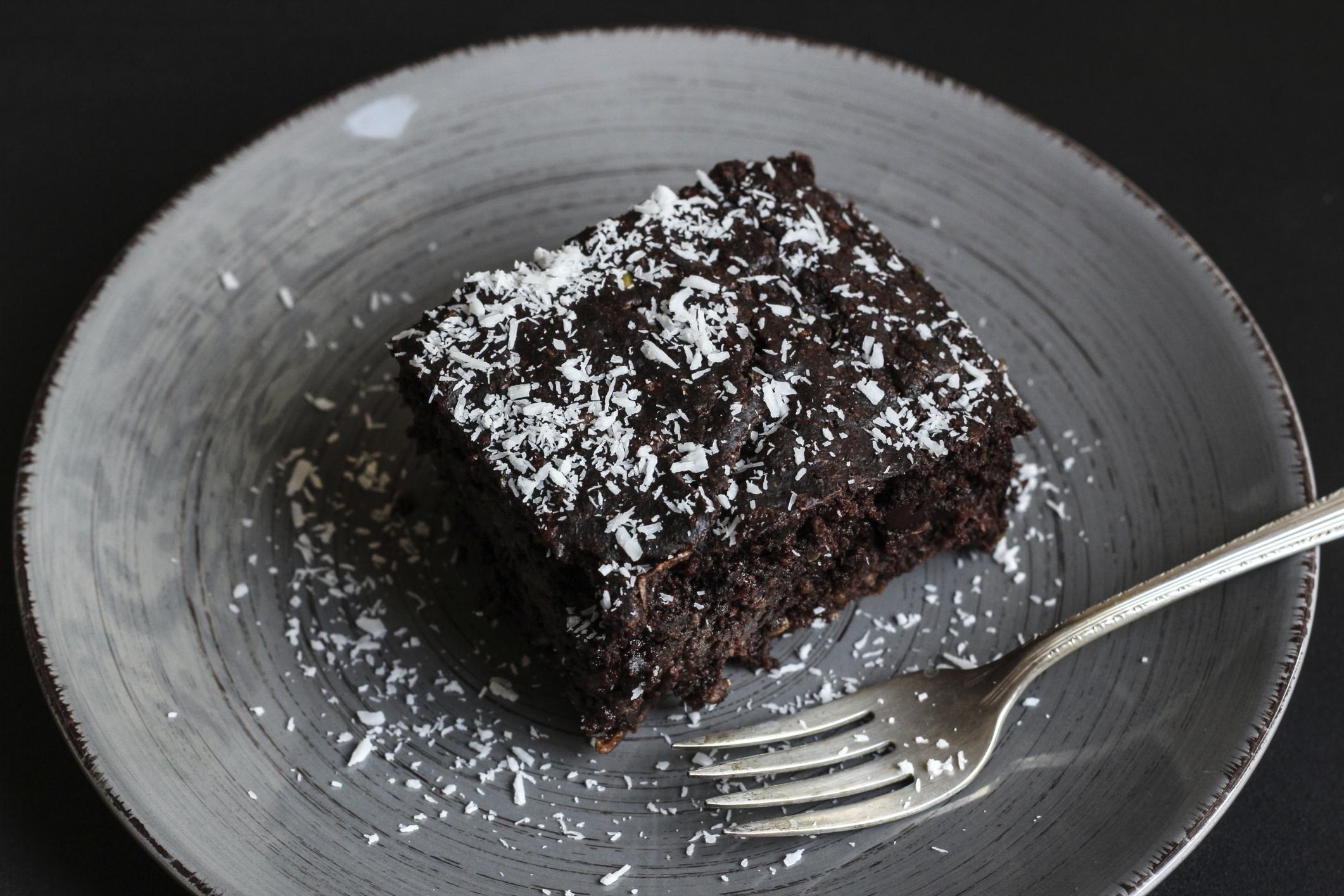 Tarta de coco y chocolate (Microondas)