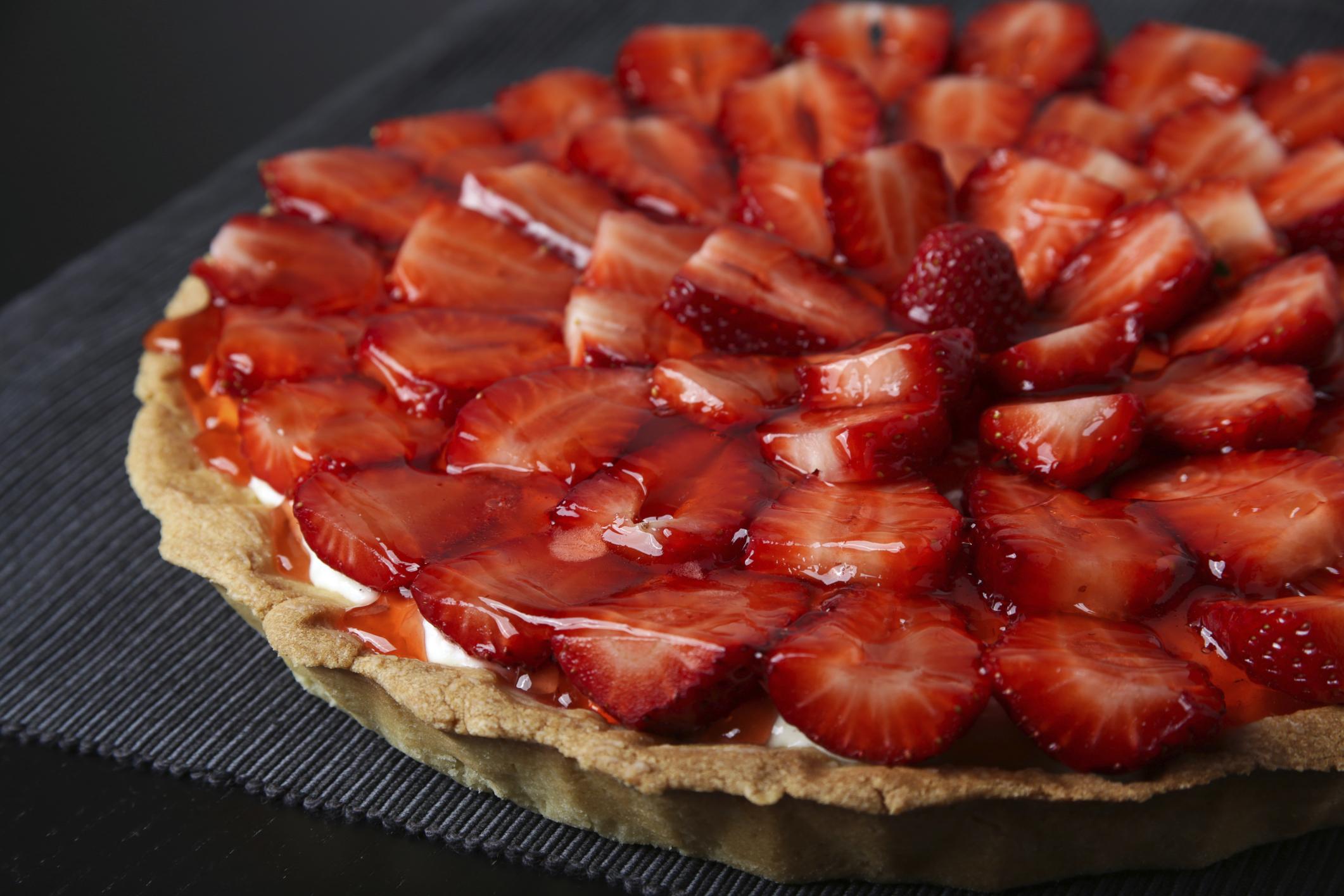 tarta de fresas favorita