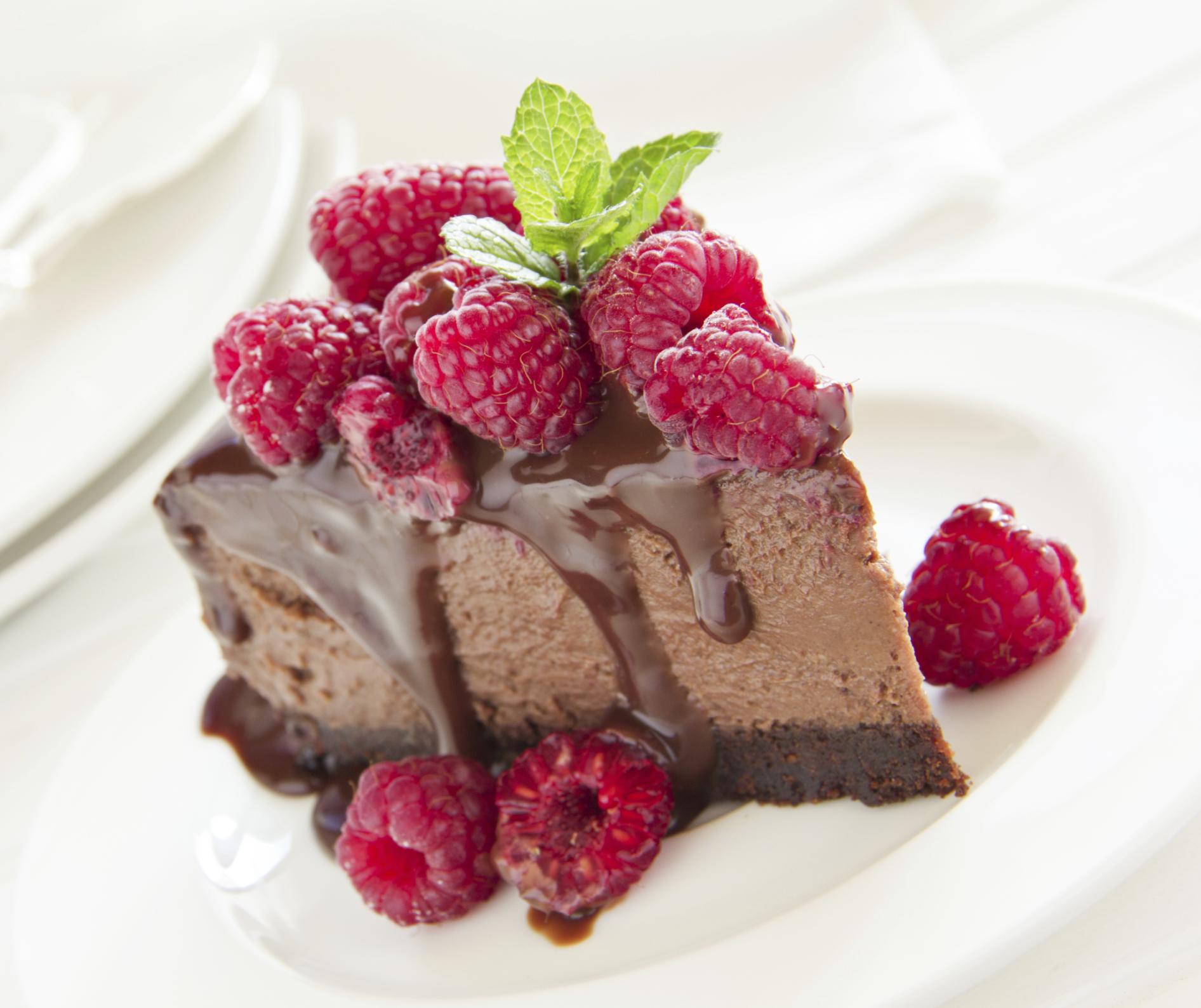 tarta helada de ricota y chocolate