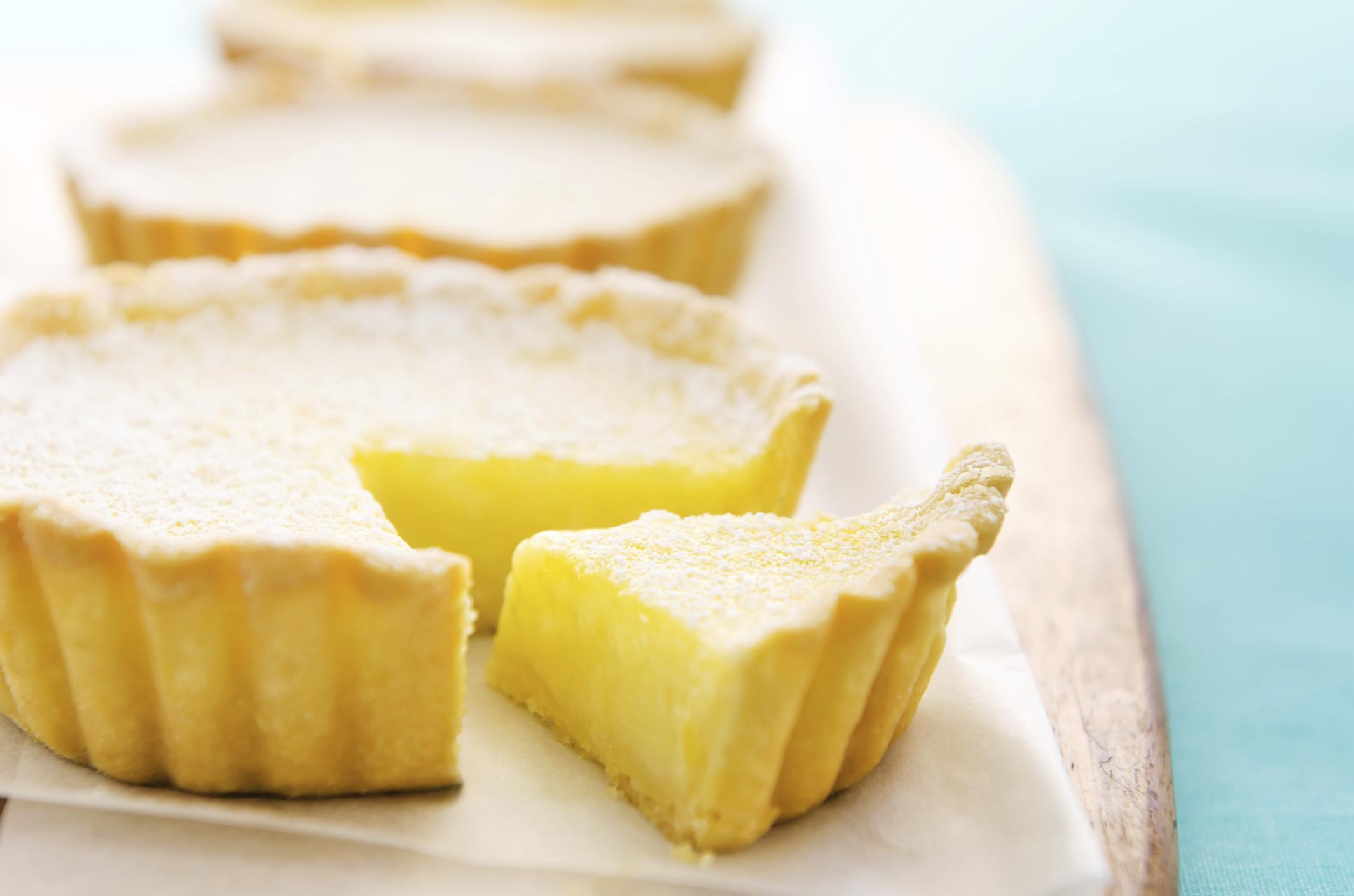 Tarta de limón  de Oviedo