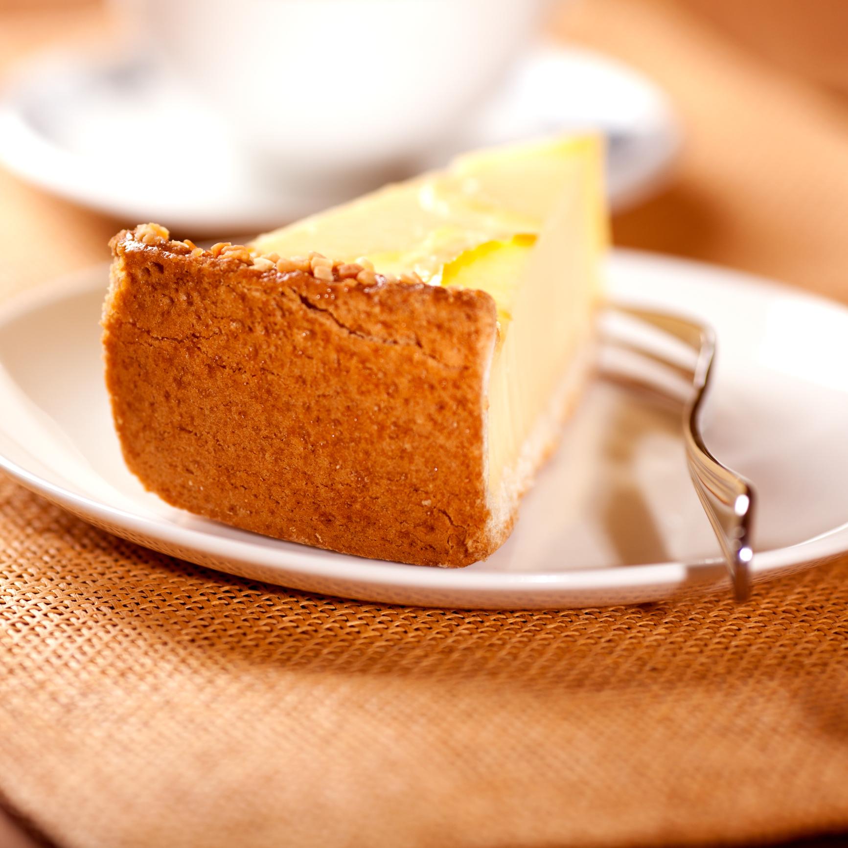 Tarta de queso sin gluten  para celíacos