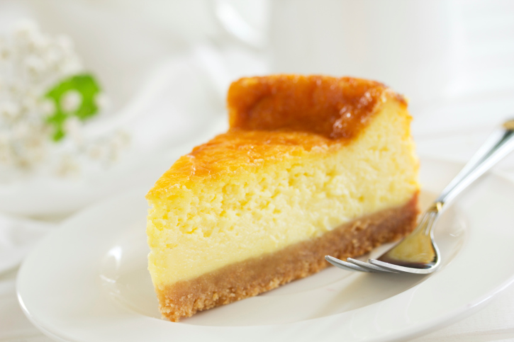 Tarta fácil de queso con yogur