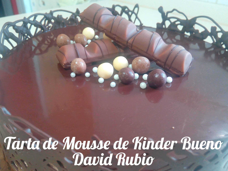 Tarta de Mousse de barritas de chocolate