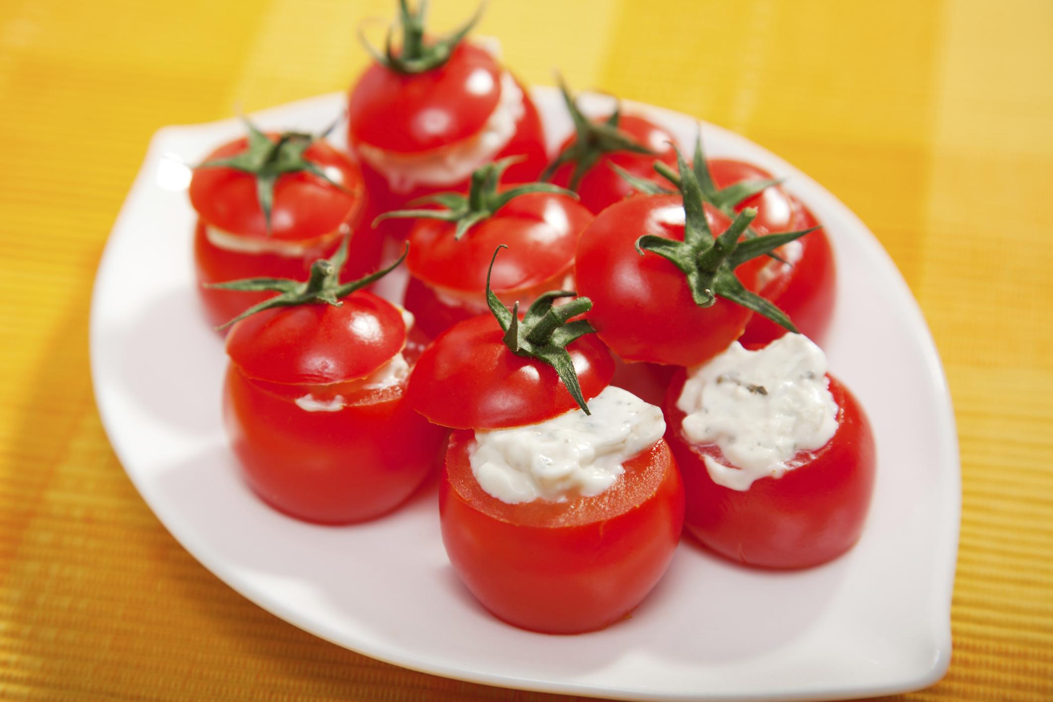 Tomatitos rellenos
