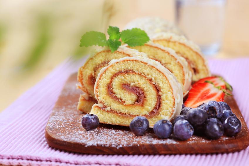 Torta caracol de pionono