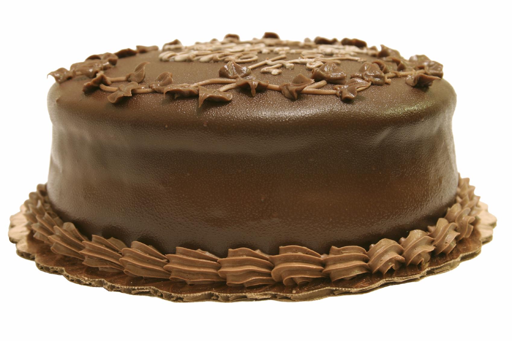 Torta de cumpleaños con bizcochuelo