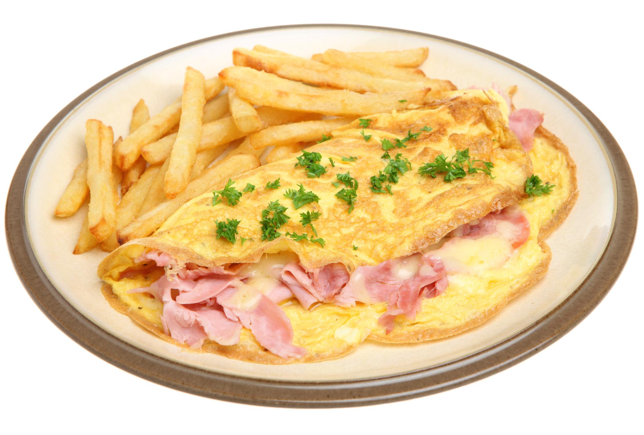 Tortilla de jamón y queso - receta de usuario