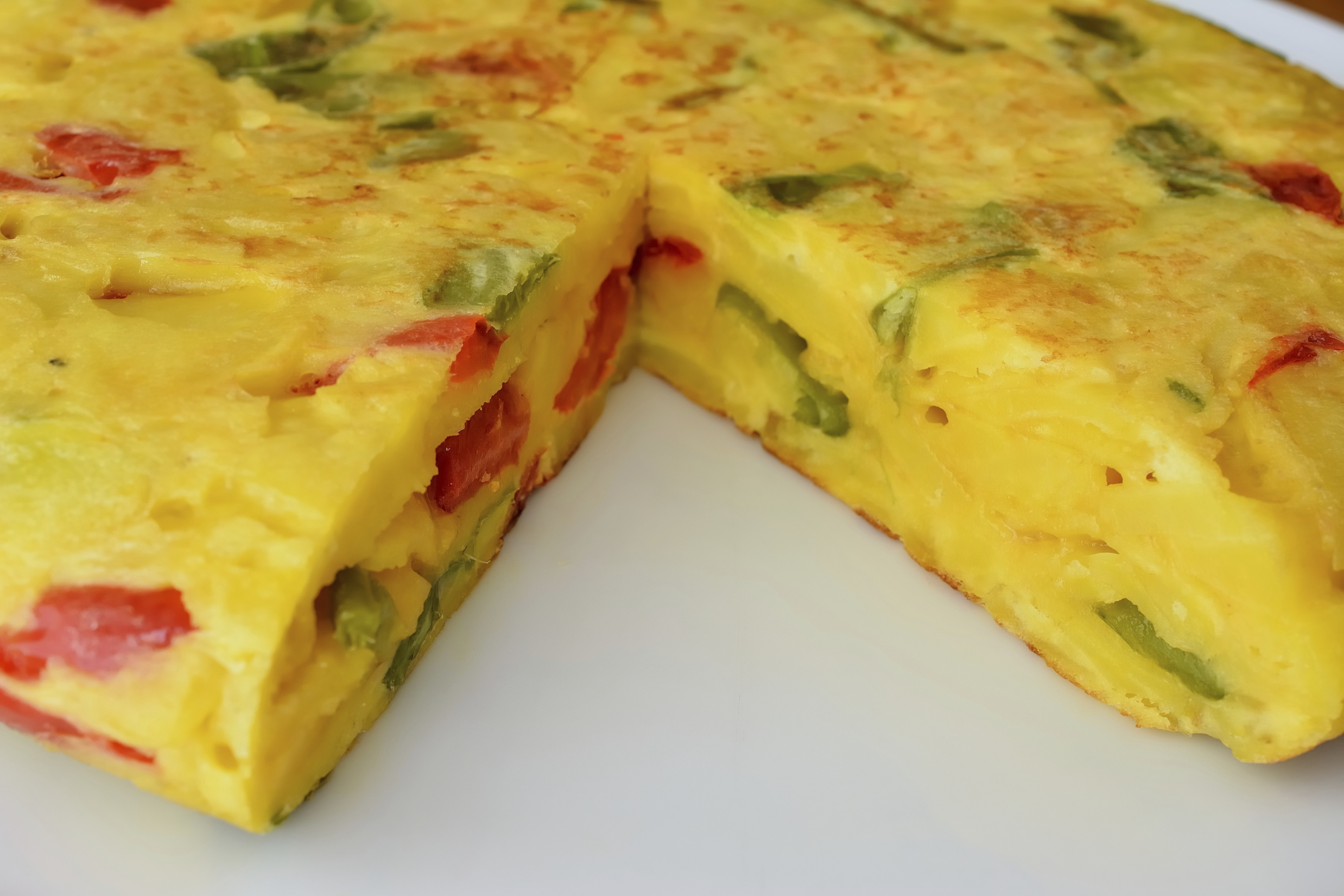 Tortilla Paisana (Microondas)
