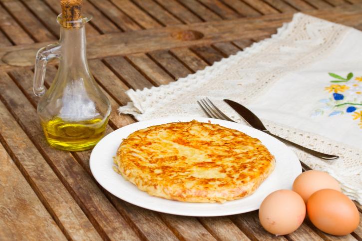Tortilla de patatas fácil