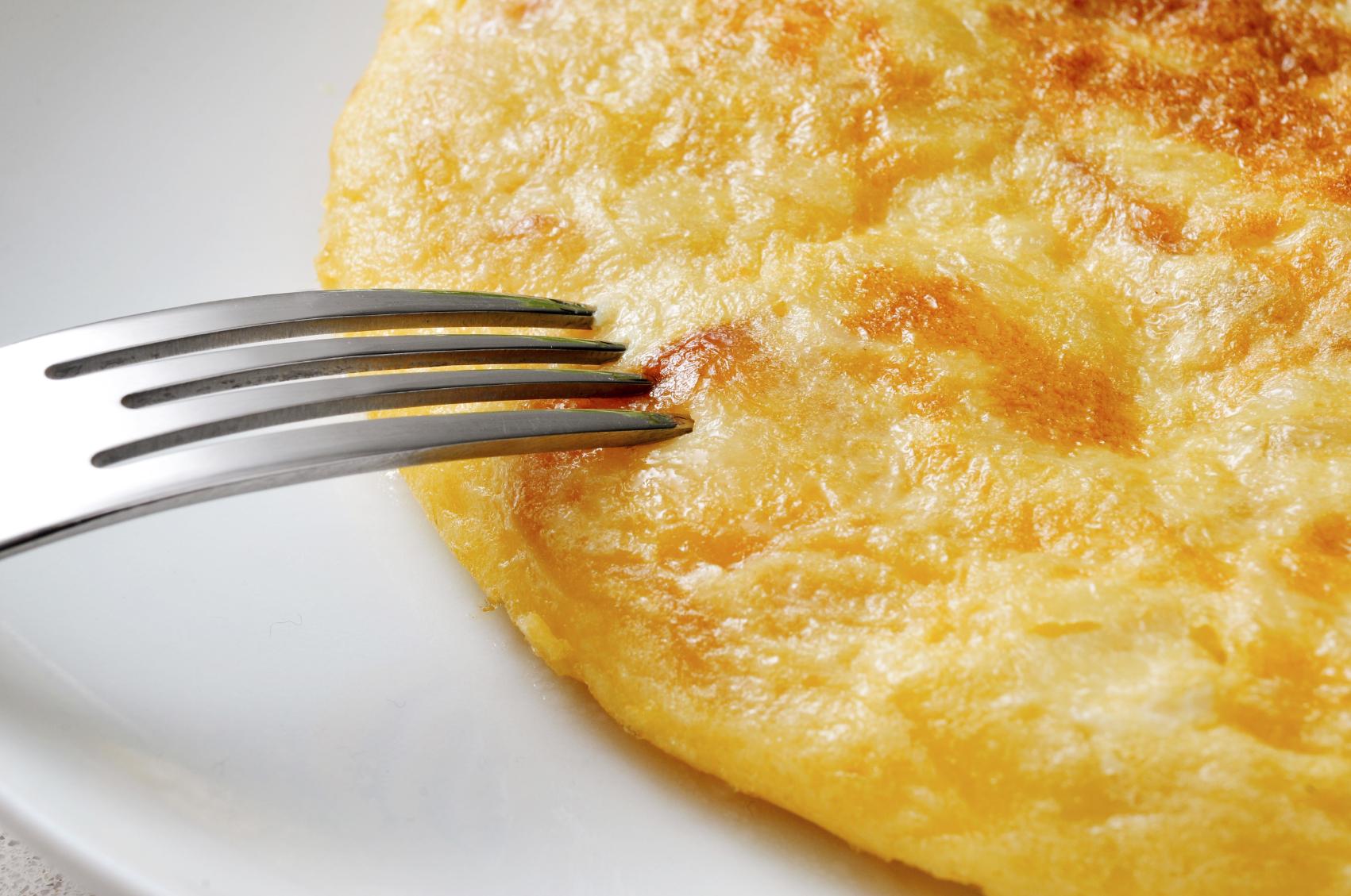 Tortitas de patata y cebolla
