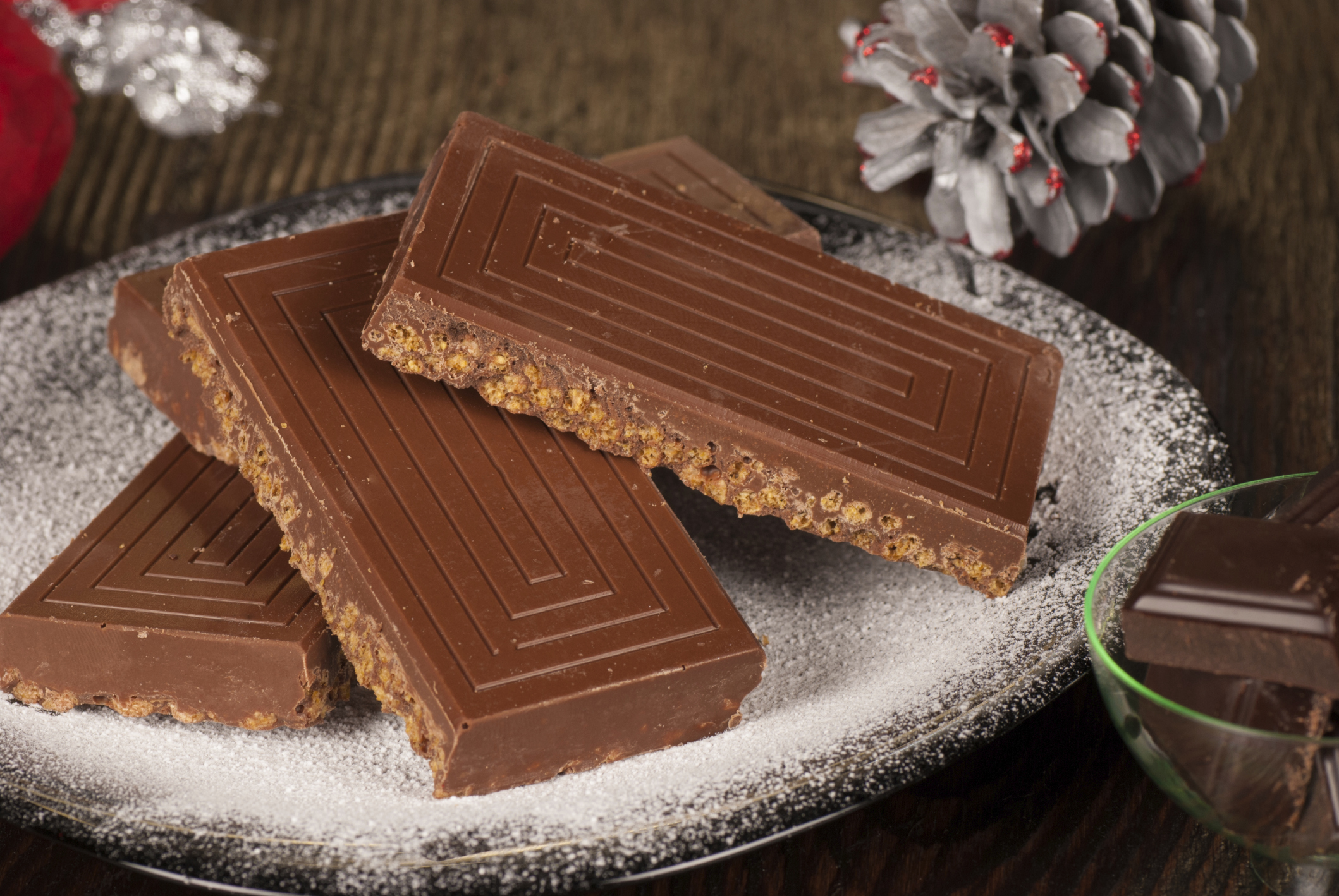 Turrón de dos chocolates