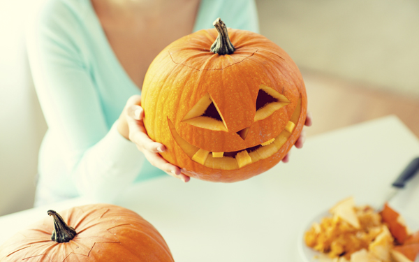 Como hacer una calabaza de halloween demos la vuelta al d a - Como hacer calabazas de halloween ...
