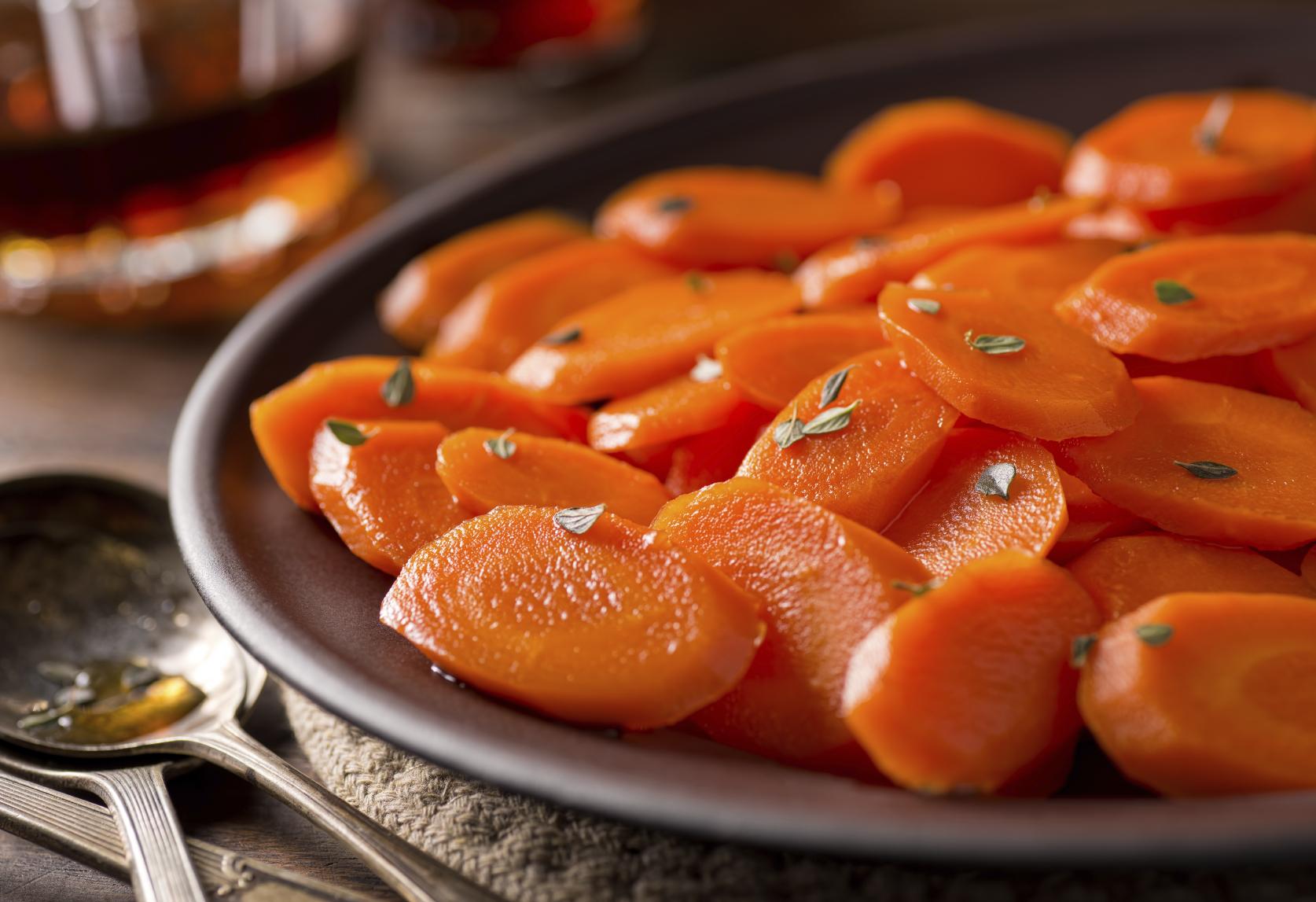 Zanahorias con azúcar